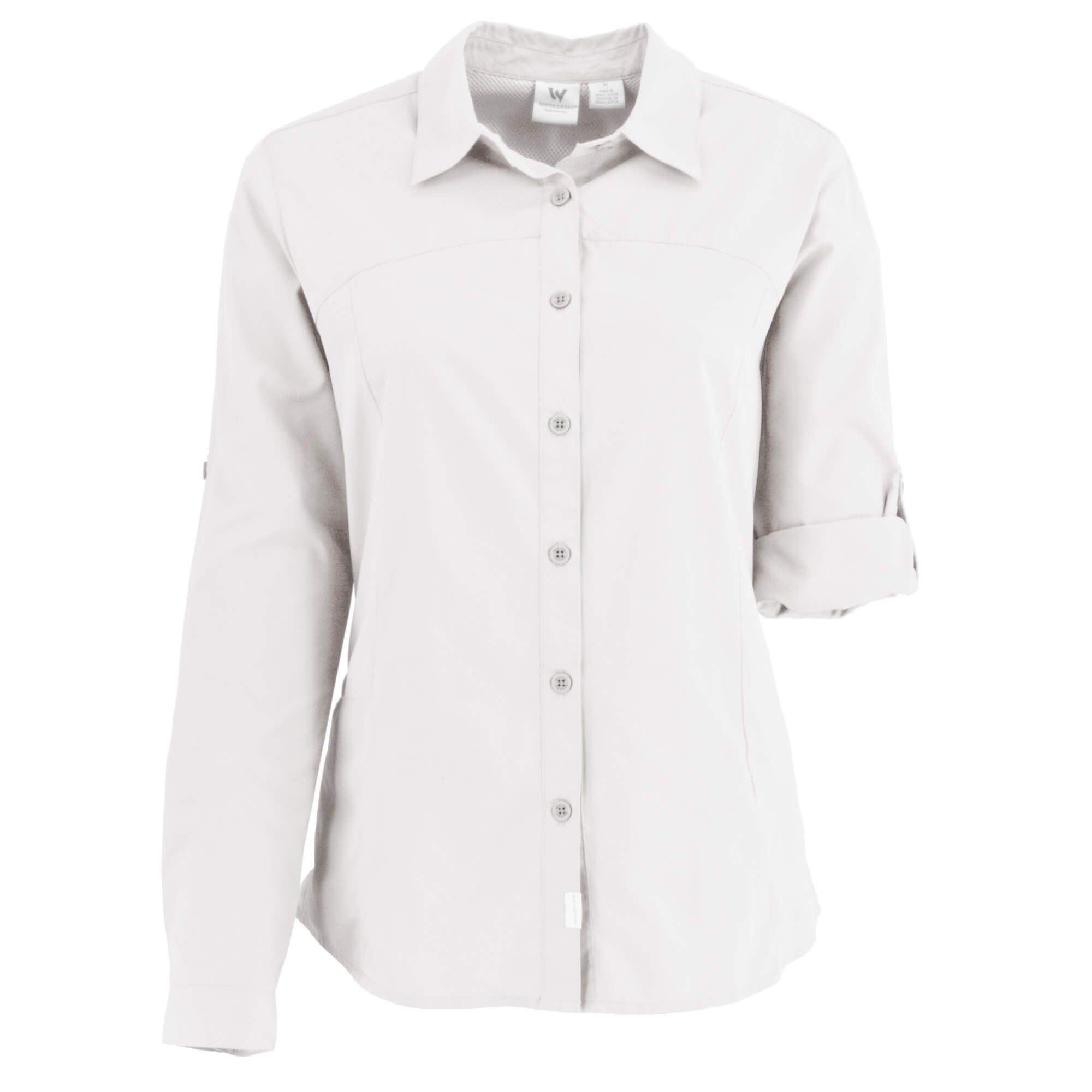 White Sierra Womens Gobi Desert Short Sleeve Shirt