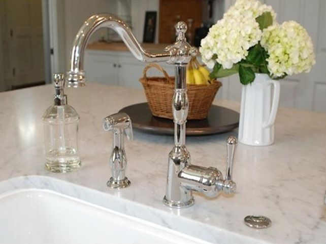 danze opulence kitchen faucet refurbished table and chairs polished nickel