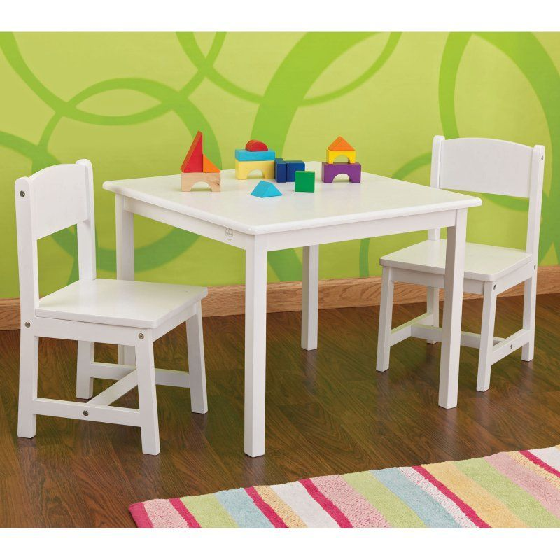 Kidkraft Aspen Table And Chair Set 21201 Kids Table Chair Set