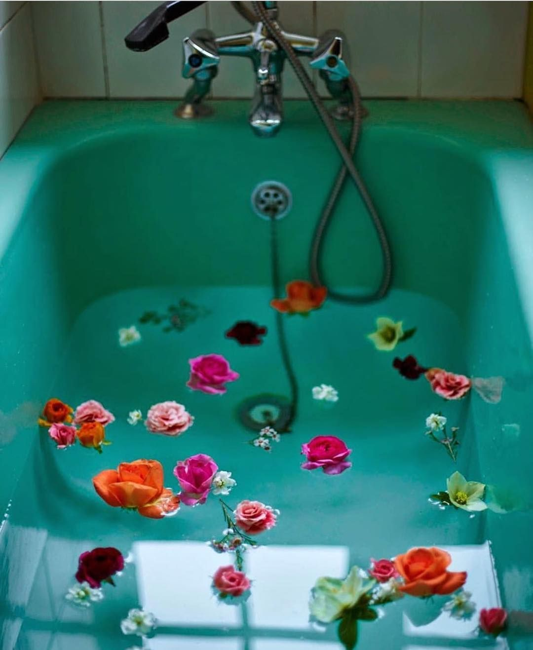 Aesthetic Bathtub Photography