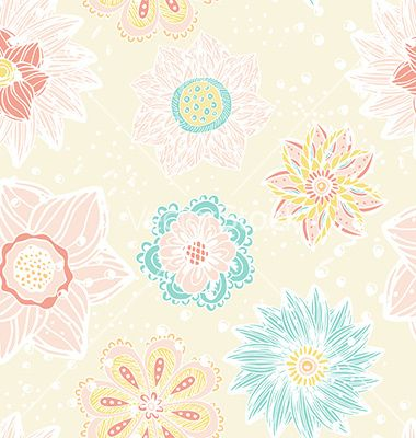 Flower doodle vector by Favete on VectorStock®