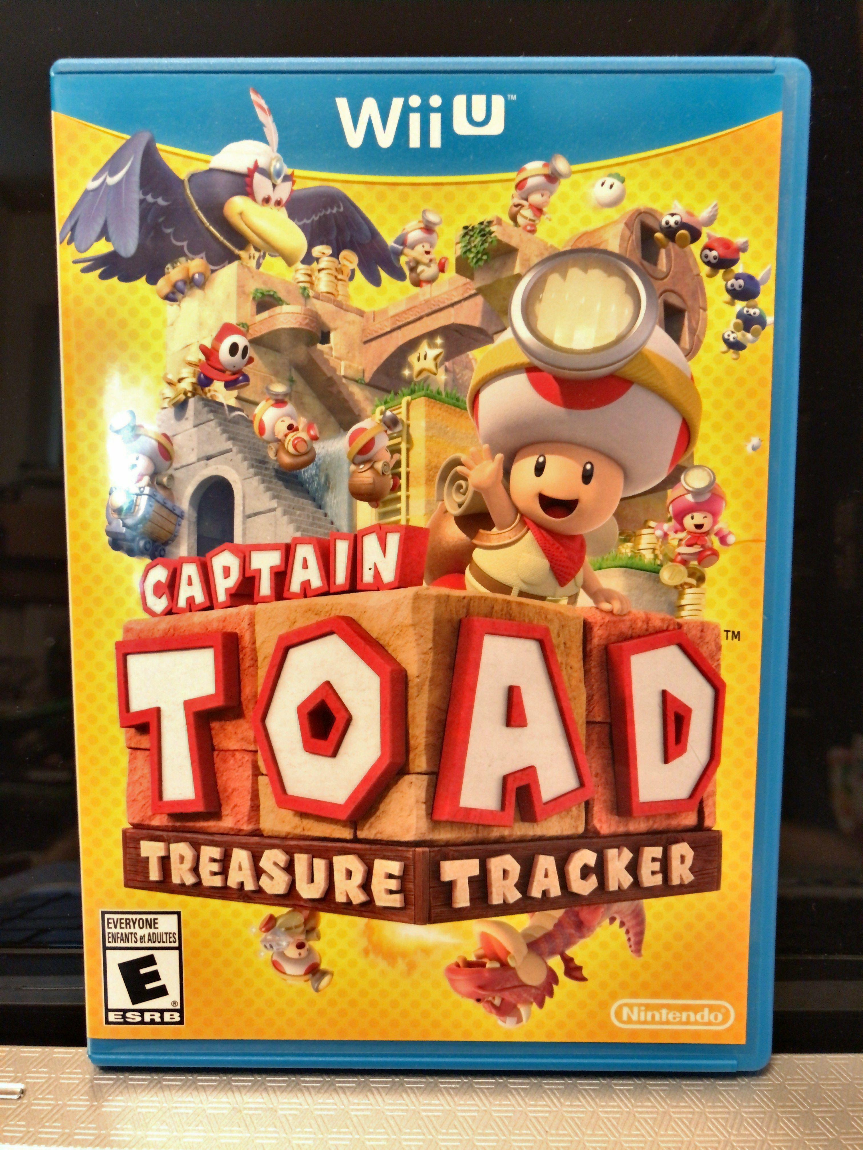 Nintendo Wii U Captain toad treasure tracker