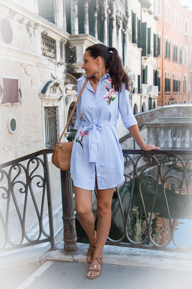 Perfect shirt dress for summer - Tina Chic