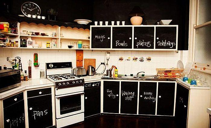 Schoolbordverf De Keuken : Handige tips om je keuken een volledig nieuwe look te geven