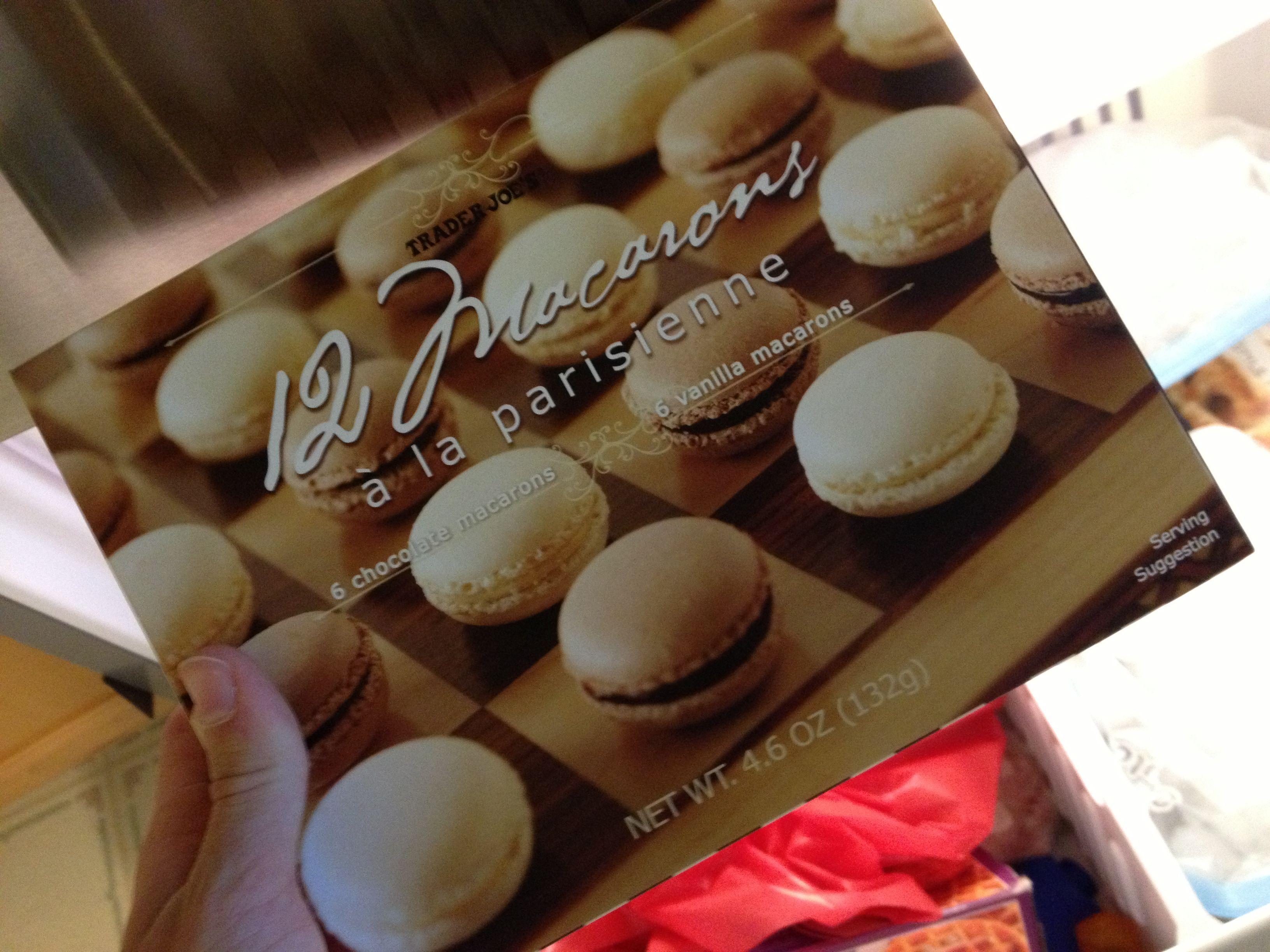 Macaroons Vanilla and Chocolate from Trader Joe's