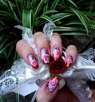 Flower nail designs,fashion Flower nail designs,new Flower nail designs,designs Flower nail designs,art Flower nail designs | Mora-fashion