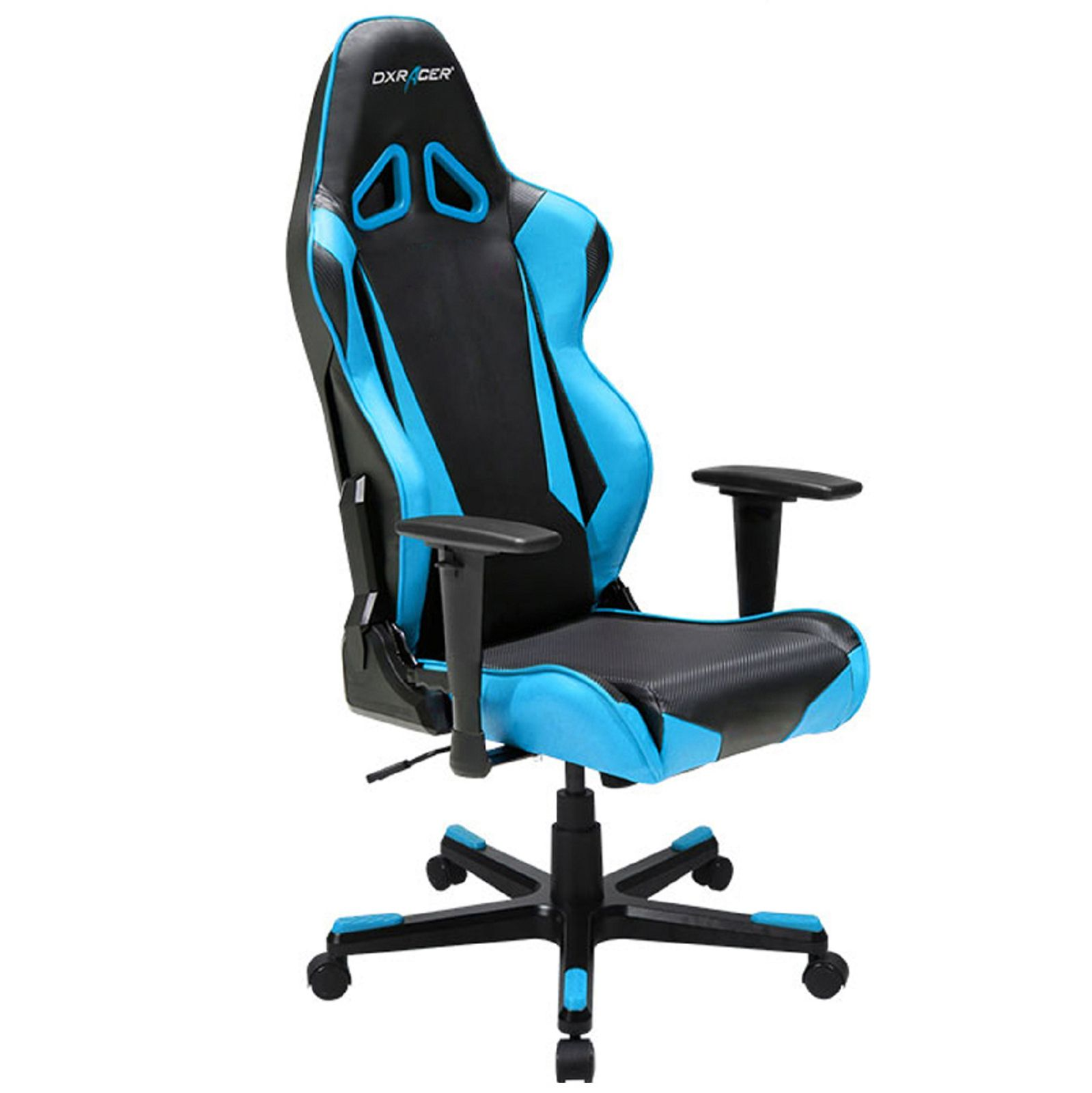 Dxracer Rb1nb Computer Chair Office Chair Sports Chair Gaming Black And Blue Gaming Chair Sport Chair Racing Chair