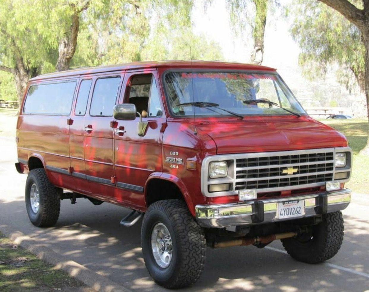 Chevy Van Chevy Van Chevrolet Van 4x4 Van