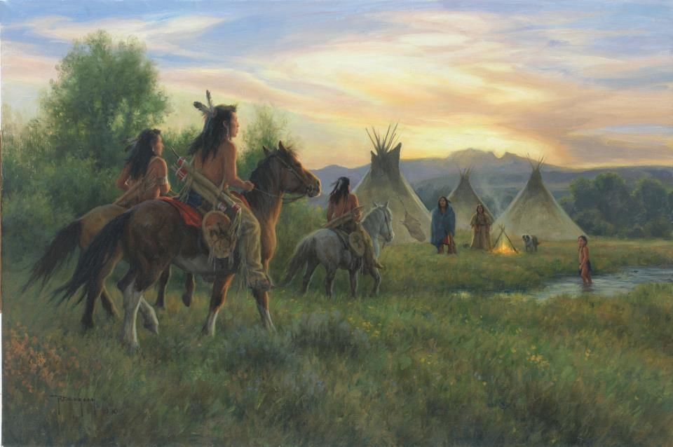 Pin by aayesha khatri on native american paintings