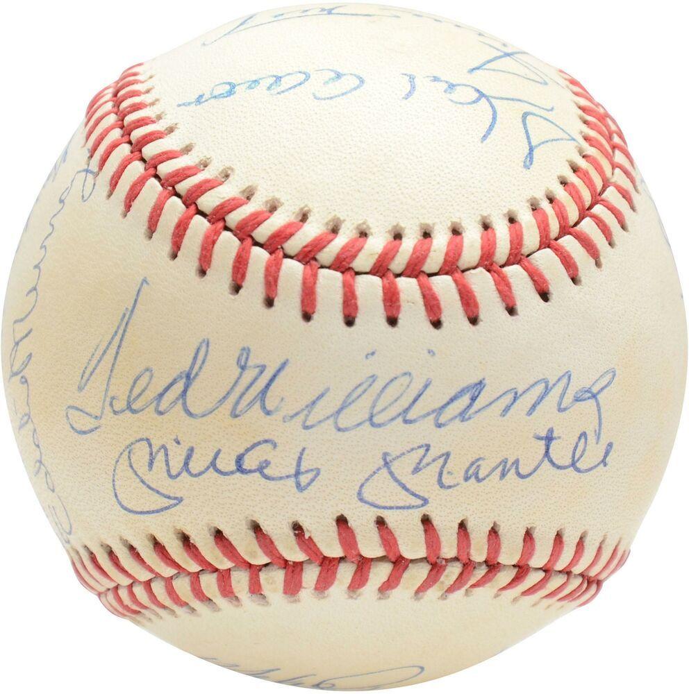 Autographed Baseball Fanatics Authentic Coa Item 9223358 Sportsmemorabilia Autograph Baseball Autographed Baseballs Baseball Willie Mays