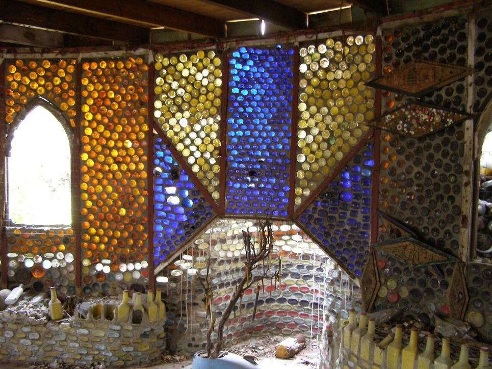 Grandma Prisbrey's Bottle Village (Simi Valley, CA)