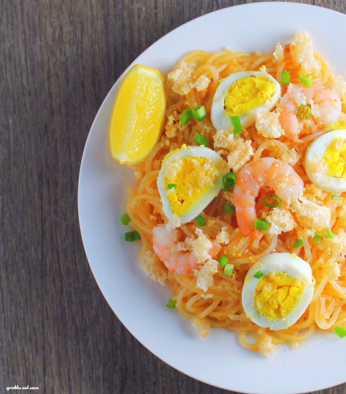 Palabok Recipe Asian recipes, Soul food, Filipino recipes