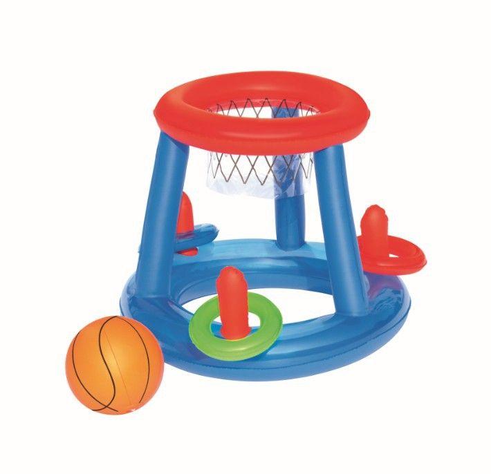 Jeu Gonflable Panier De Basket Flottant Au Meilleur Prix Lekingstore Jeux Piscine Panier De Basket Piscine Gonflable