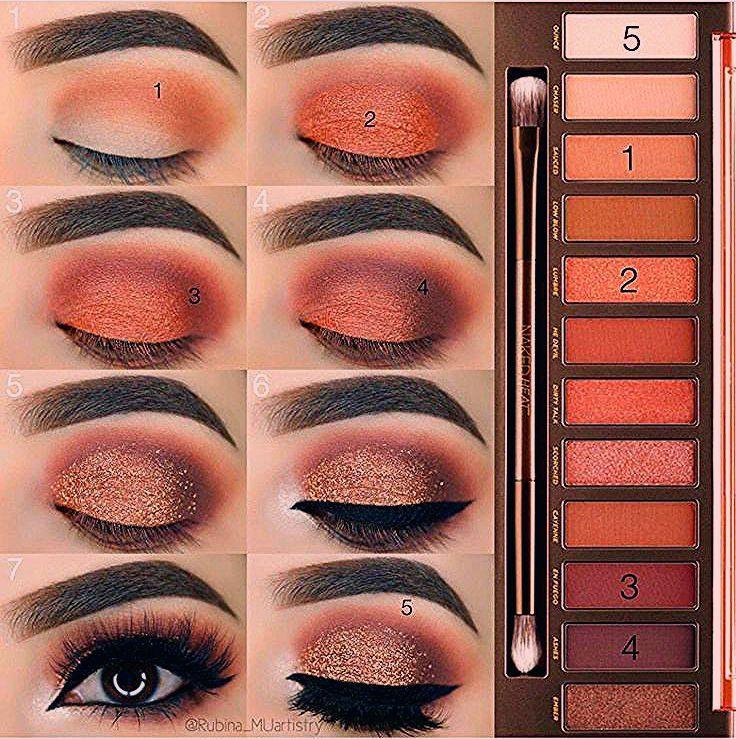 Photo of Tägliches braunes smokey Augen Makeup Tutorial #Eyemakeup – Beauty Home
