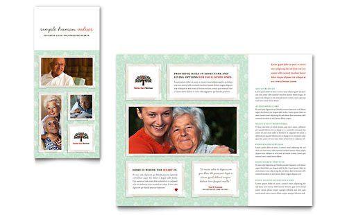 Contoh Pamflet Brosur Pelayanan Kesehatan Lansia hgsegfdfgrer - microsoft word pamphlet template