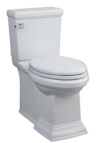American Standard 2817 128 020 Town Square Concealed Trapway Rh Elongated Toilet With Seat White American Standard Http Water Sense Toilet American Standard