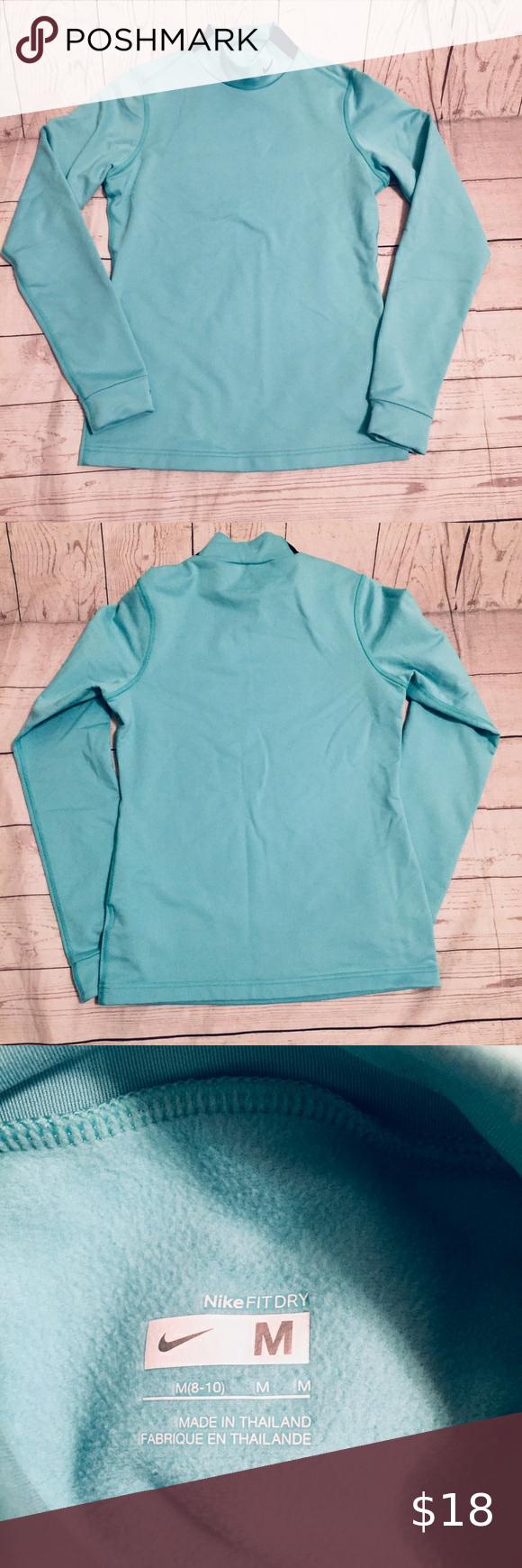 Nike Fleece Lined Turtleneck Nike Fleece Turtle Neck Long Sleeve Tshirt Men [ 1740 x 580 Pixel ]
