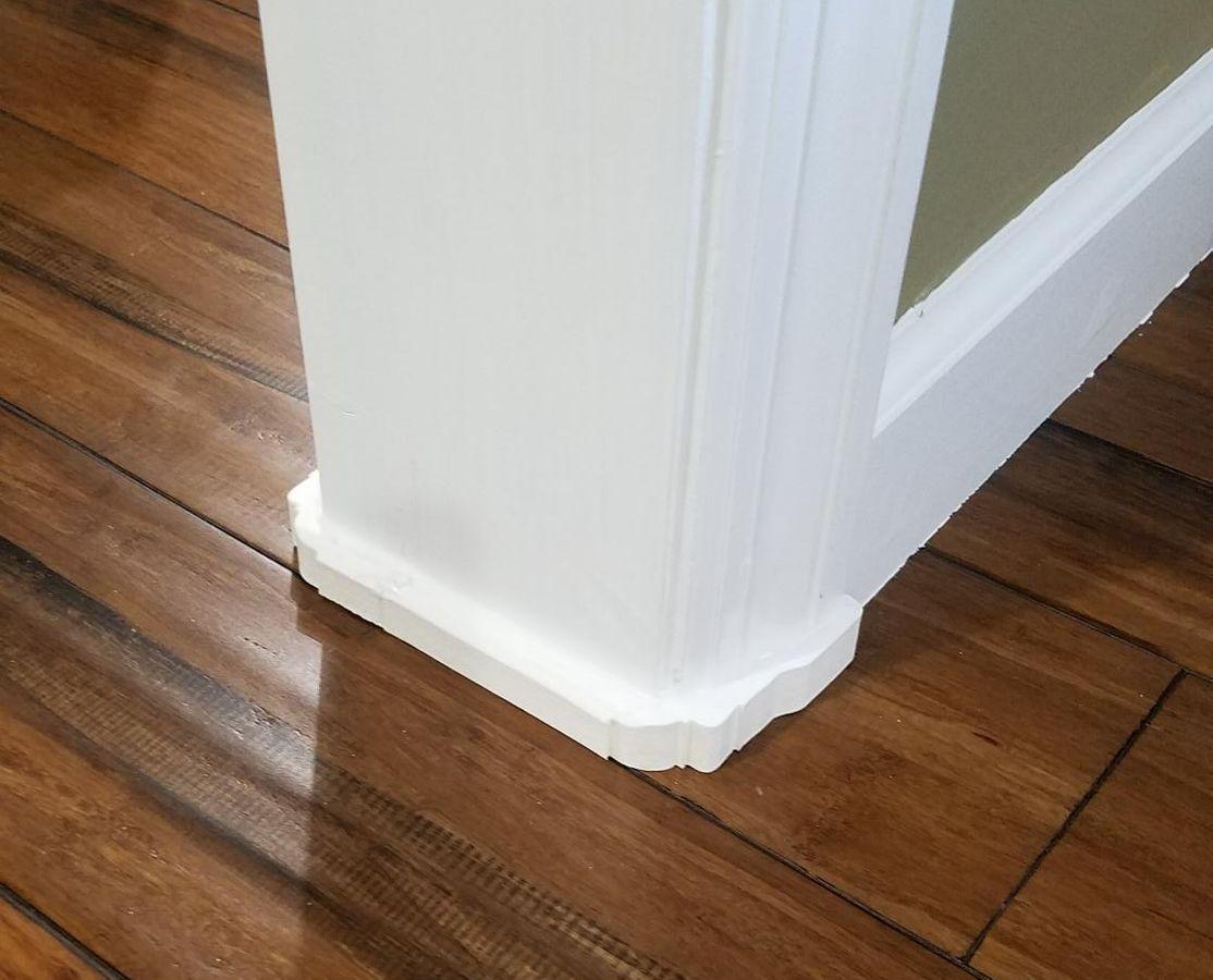 Gaps Doorframes Casing Kickers Door Casing Decorative Trim Door Installation