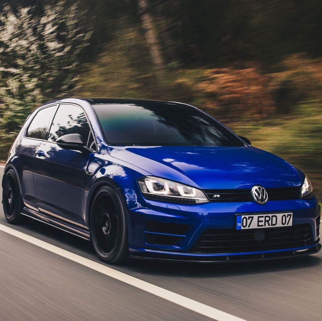 Lapiz Blue Golf R Vw Golf R Mk7 Volkswagen Golf R Volkswagen Golf Gti