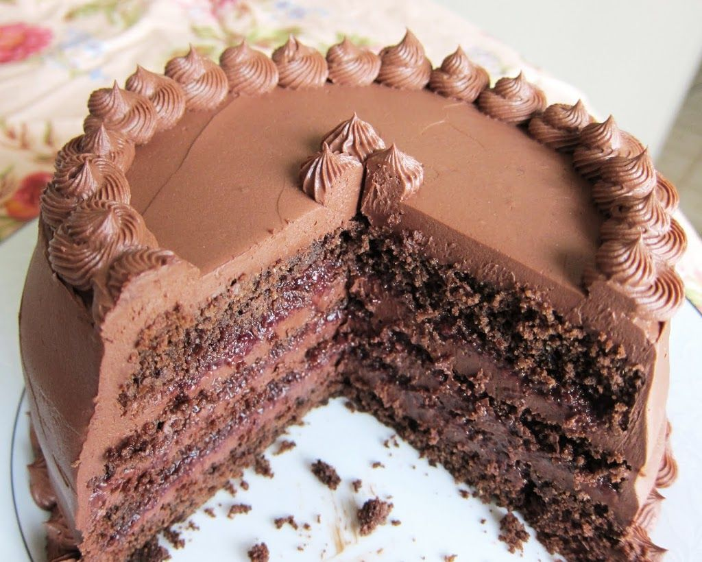 Chocolate Red Wine and Olive Oil Cake | Fragrant Vanilla Cake