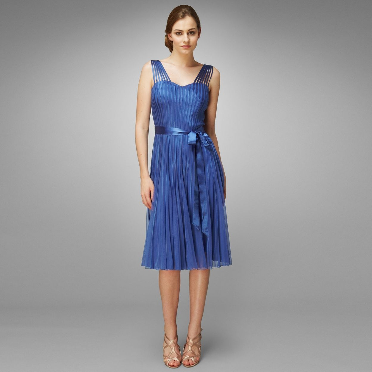 Gorgeous blue Bridesmaid dress designed by Phase 8 and available at Debenhams