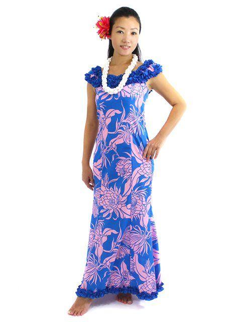 Fiji long muumuu dresses