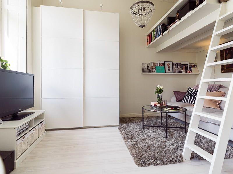 4 Super Kleine Studio-Apartments Mit Loft-Betten