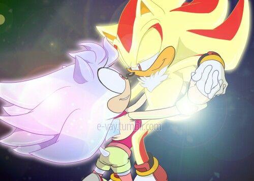 Super Shadow and Super Aurora | Sonic the Hedgehog | Sonic art