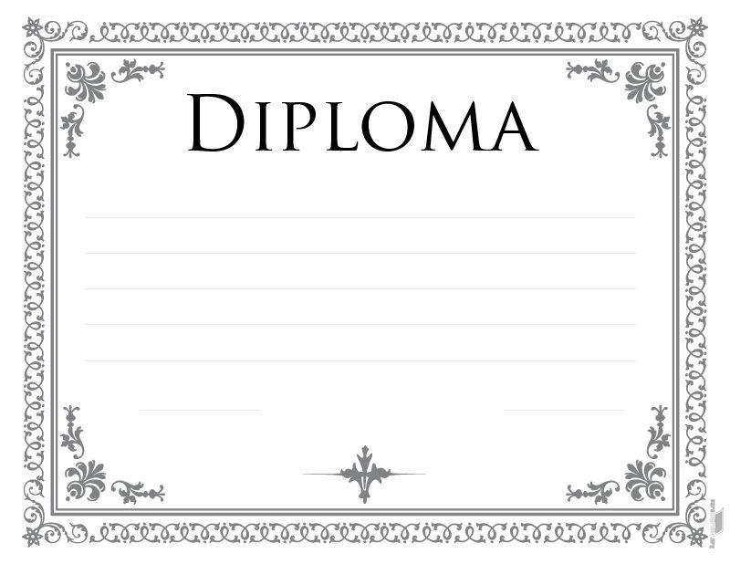Pin Diplomas Para Imprimir Modelos De On Pinterest | Dibujo ...