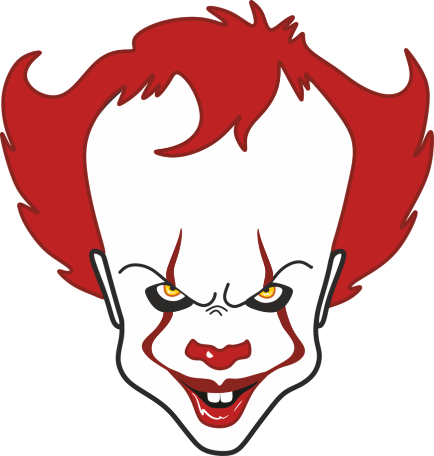 Pin By Randy Mcpherson On Clowns Of Many Colors Jokers Easy Drawings Halloween Drawings Pennywise The Clown