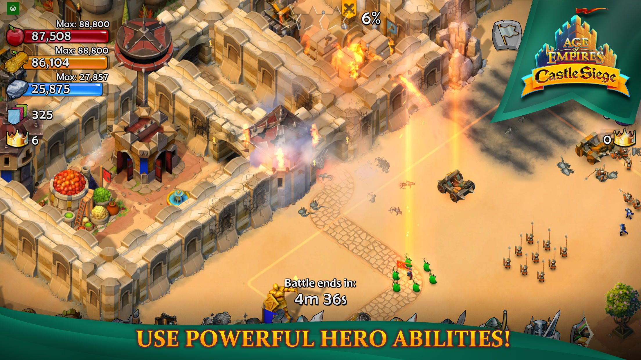 Age Of Empires Castle Siege Hack Amazing Cheats Gold Food