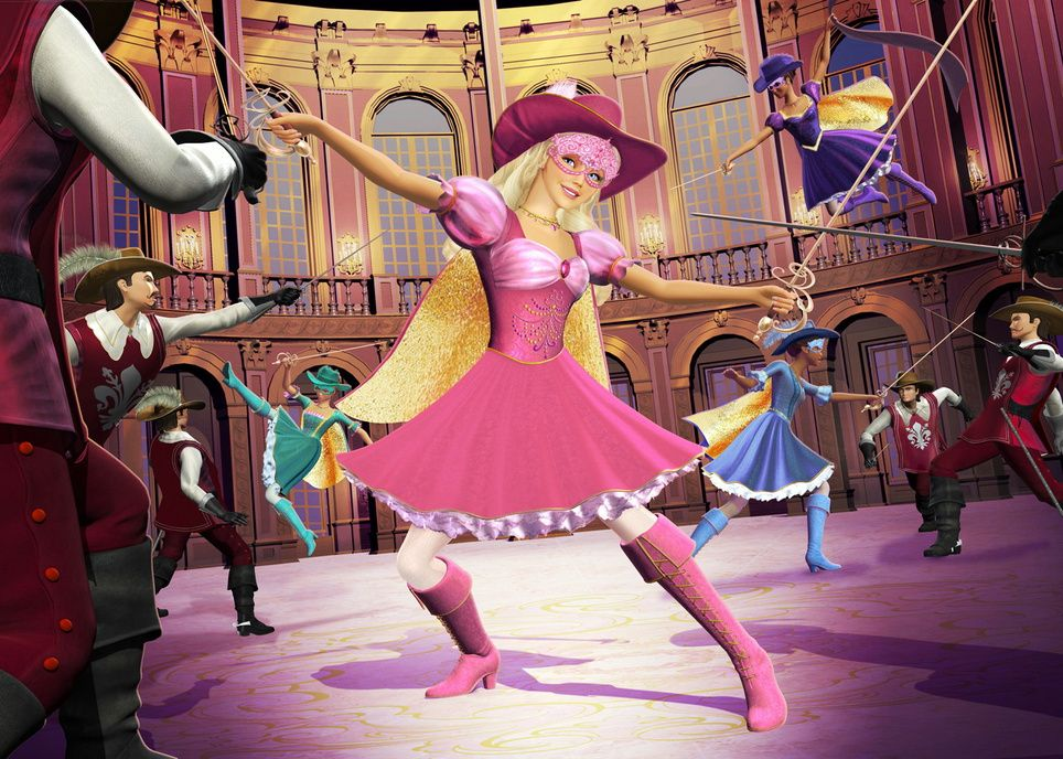 Barbie Und Die Drei Musketiere Barbie And The Three Musketeers Usa