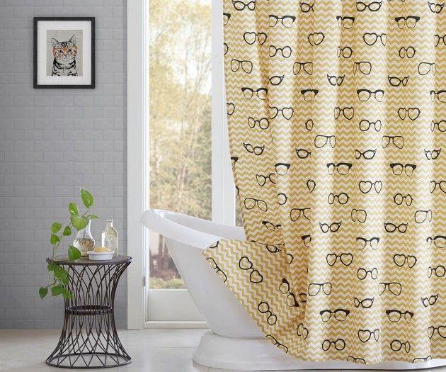 Simone Shower Curtain Lenses