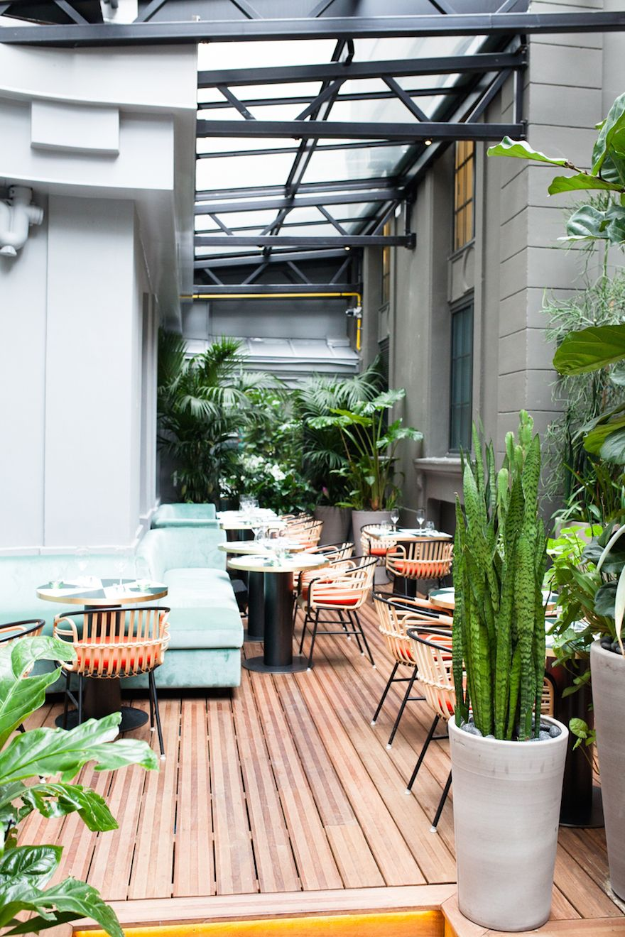 Resto Terrasse Paris Le Sinople Paris Cafe Restaurant In 2019 Resto Terrasse