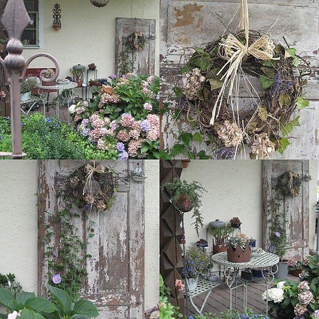 Alte Tür - Wohnen und Garten Foto Garten Garten, Rustikaler