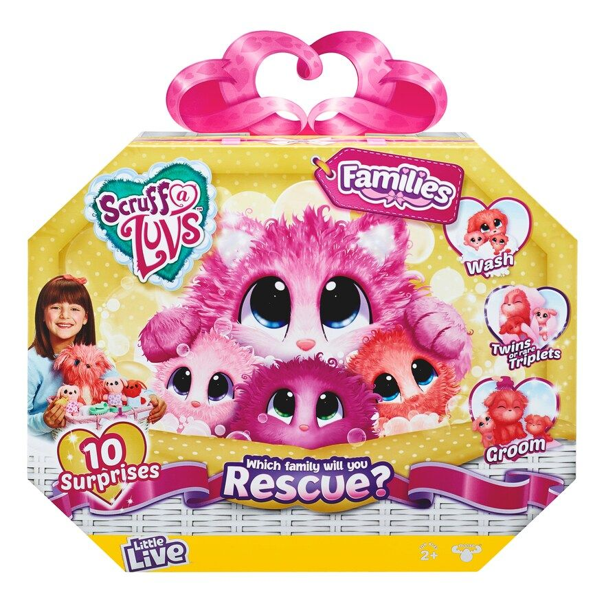 Little Live Scruff A Luvs Family Pack Little Live Pets Toys For