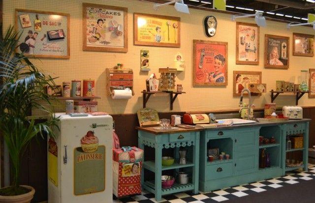 Natives Deco Retro Déco Vintage Pinterest Deco Retro - Deco chambre louis philippe pour idees de deco de cuisine