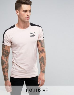 Shoptagr | Puma Muscle Fit T Shirt In Pink Exclusive To Asos by Puma