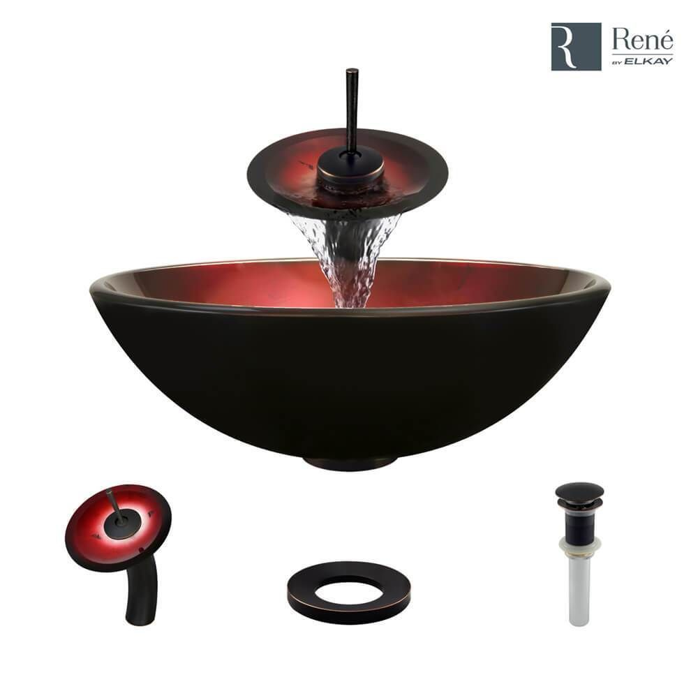 Includes: sink, choice of faucet, sink ring, drain, choice of finish ...
