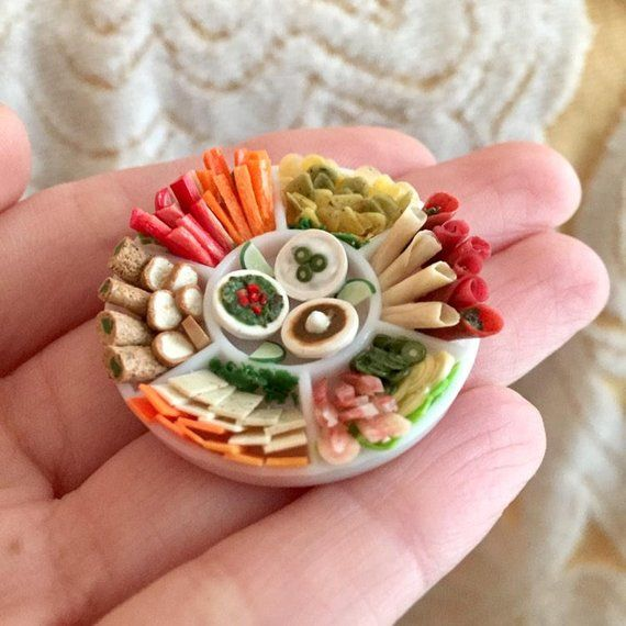 1:6 Dollhouse Miniatures Pie Bakery Pastry on Plate Toy Food Deco Barbie Blythe