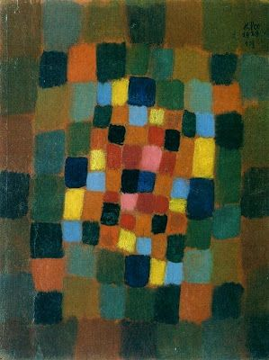 Paul Klee  'Colourful Flowerbed'  1923
