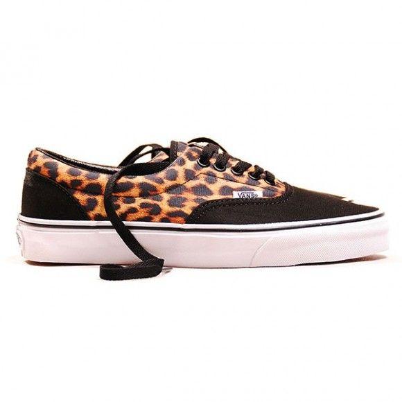 fa09eba73221 A much more wearable leopard print sneaker. #Vans #Leopard Print #Era 2013