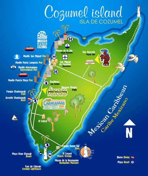 Cozumel - So much to do!! Join us aboard Navigator of the Seas for ...