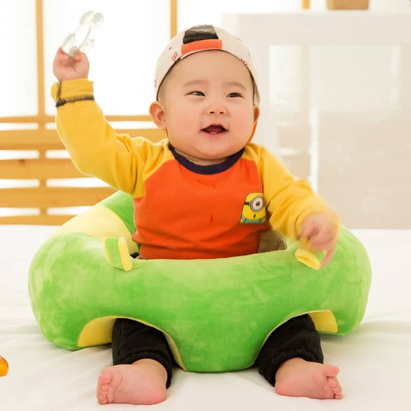 This Lovely Cushion Baby Floor Seat Cotton Infant Sitting Chair