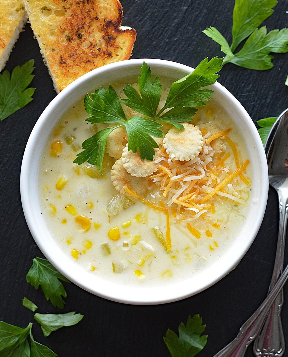 Vegan Cafe Corn Chowder Livingvegan Vegsage Recipe Http