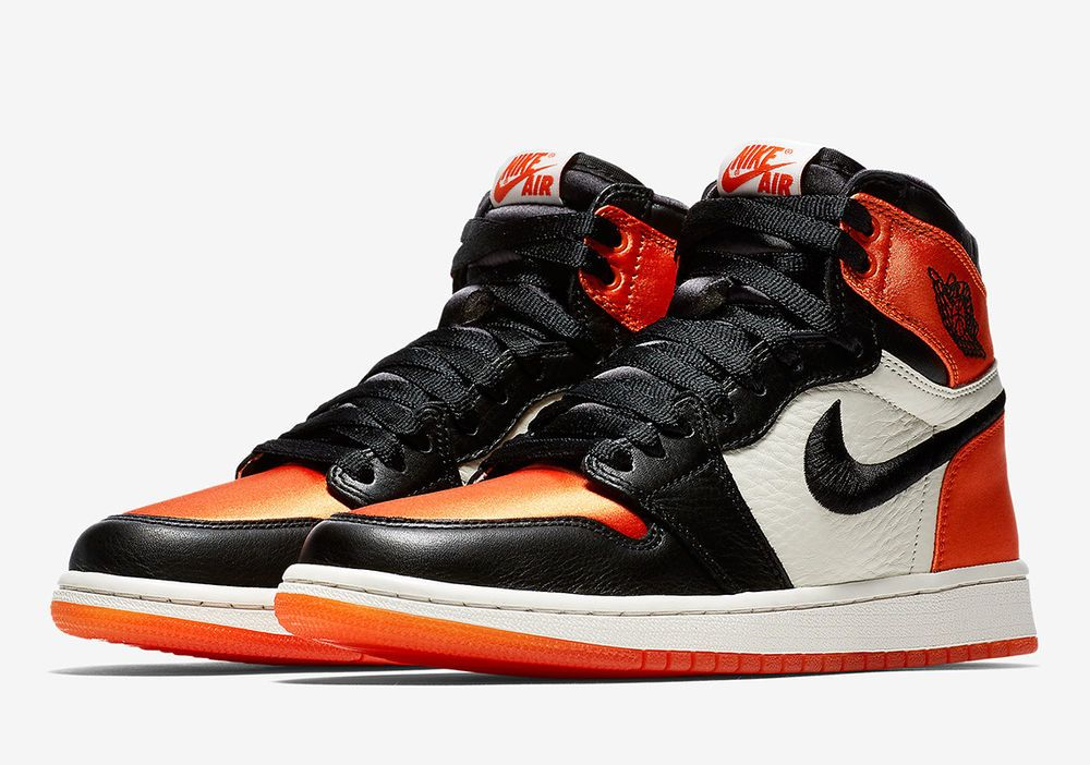 Air Jordan 1 High Satin Shattered Backboard Womens Size 9 Mens 7 5
