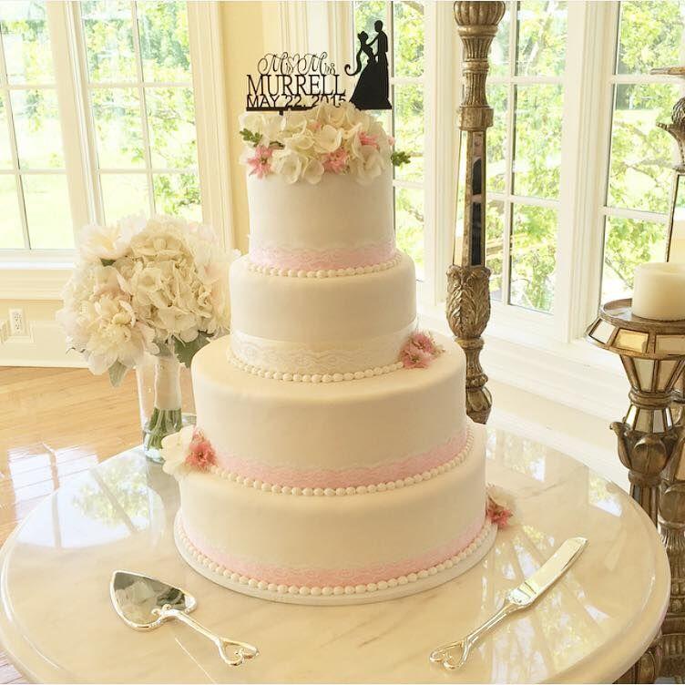 Sorby Sweets Wedding Cake | Fondant Wedding Cake | Lace Wedding Cake ...