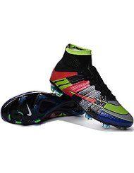 huge discount 203bd 9b4ca Andrew Zapatos para hombre botas de fútbol Mercurial Superfly, hombre, arco  iris, 42