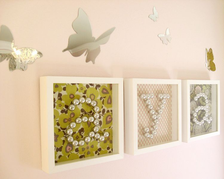 inspiration for nursery/kid\'s room gallery wall - use Ikea Ribba ...