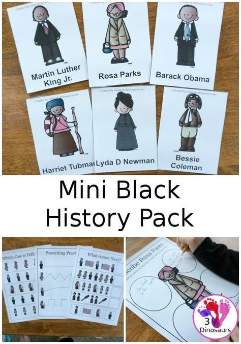 Photo of Mini Black History Month Pack